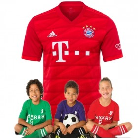Kid's Bayern Munich Home Suit 19/20 (Customizable)
