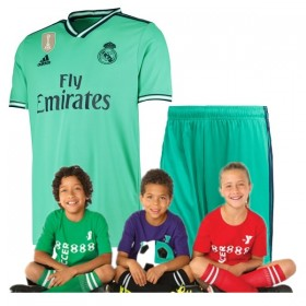 Kid's Real Madrid Third Suit 19/20 (Customizable)