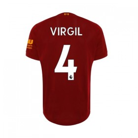 Liverpool home Jersey 19/20 4#Virgil
