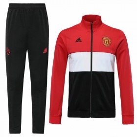 19/20 Manchester United Training Suit Red Black