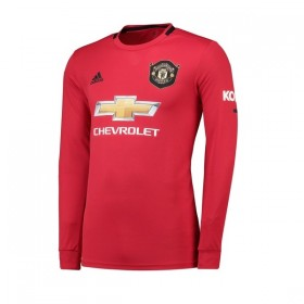 Manchester United Home Long sleeve Jersey 19/20 (Customizable)