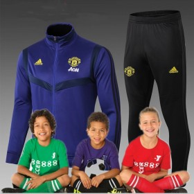 kid's 19/20 manchester united Training Suits  jacket