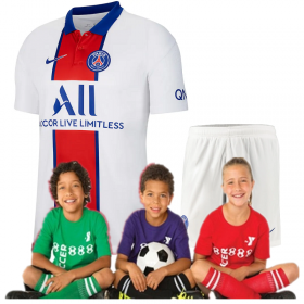Kid's Paris Saint-Germain Away Suit 20/21 (Customizable)