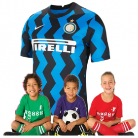 Kid's Inter Milan Home Suit 20/21 (Customizable)