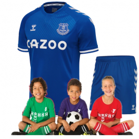 Kid's Everton Home Jersey 20/21 (Customizable)