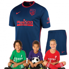 Kid's  Atletico Madrid Away Suit 20/21 (Customizable)