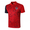 France POLO Shirts  20/21 red