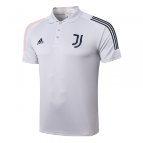 Juventus POLO Shirts 20/21 light grey
