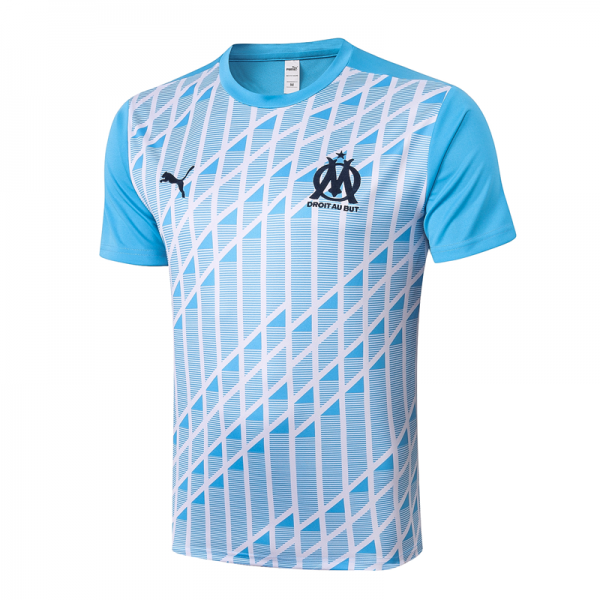 Olympique de Marseille T-Shirts 20/21 Light blue (inkjet)