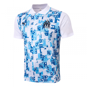 Olympique de Marseille POLO Shirts 20/21 white (inkjet)