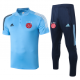 Ajax POLO Shirts 20/21 Light blue