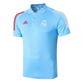 Real Madrid POLO Shirts 20/21 Light blue