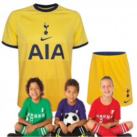 Kid's Tottenham Hotspur Third Suit 20/21 (Customizable)