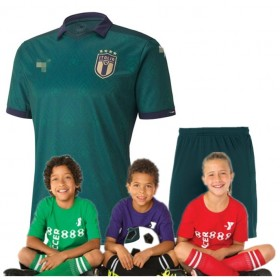 Kid's 2020 Euro Cup Italy  Third Suit (Customizable)