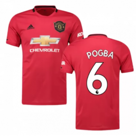 Manchester United Home Jersey 19/20 #6 Paul Pogba