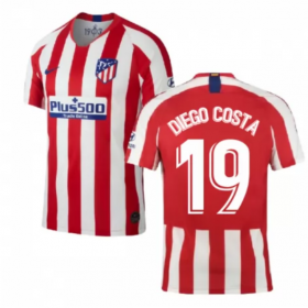 Atletico Madrid Home Jersey 19/20 # 19 Diego Costa