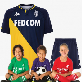 kid's AS Monaco Away Jersey 20-21(Customizable)