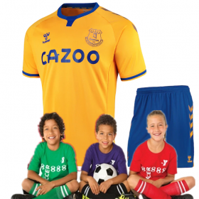 Kid's Everton Away  Jersey 20/21 (Customizable)