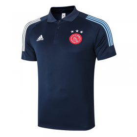 Ajax POLO Shirts 20/21 Royal blue