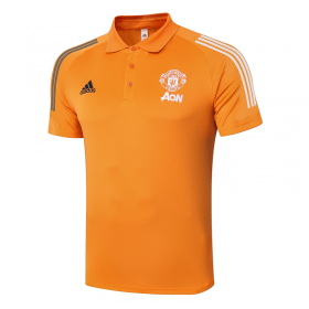 Manchester United POLO Shirts 20/21 Orange