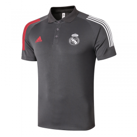 Real Madrid POLO Shirts 20/21 Dark gray