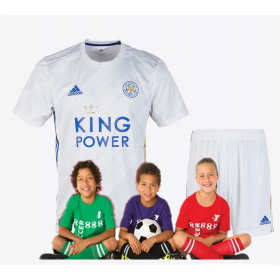 kid's Leicester City Pink Away Jersey 19/20 (Customizable)