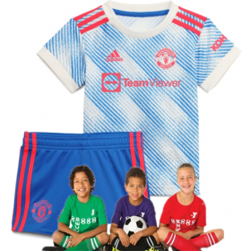 Kid  Manchester United Away Suit 21/22(Customizable)