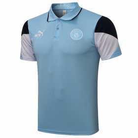 21/22 Manchester City POLO shirts Blue