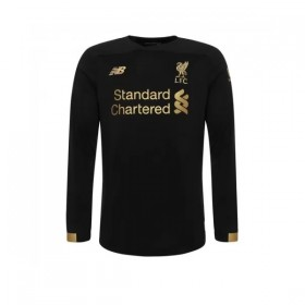 Liverpool Home Long Sleeve Goalkeeper Shirt 19/20(Black)